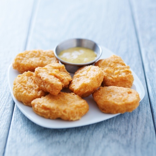 Chicken Nuggets with Honey Mustard Sauce