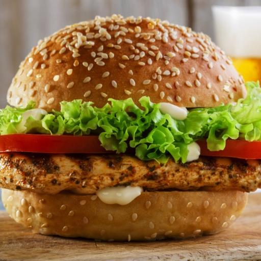 Grill Chicken Burger