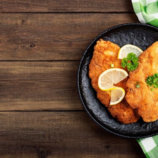 Breaded Chicken Escalope